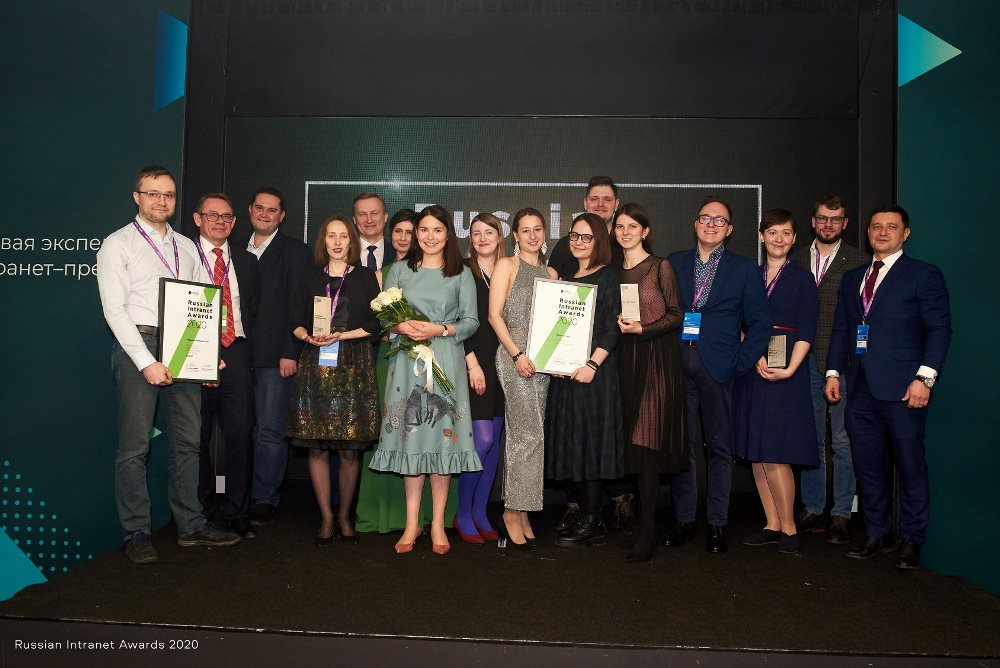 Победители Russian Intranet Awards 2020